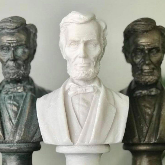 Busts of Abraham Lincoln